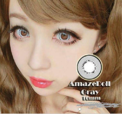 Sweety Amazed Doll Grey-Colored Contacts-UNIQSO