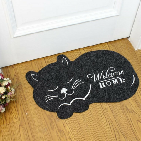 "Image of Tapis félin ""Welcome"" - MiaouCat"