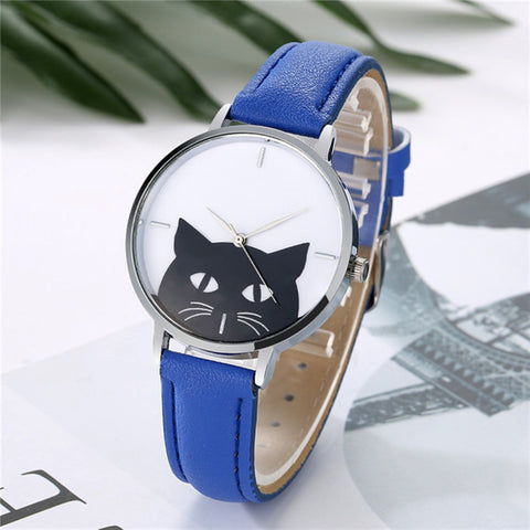 Image of Adorable Montre Chat - MiaouCat