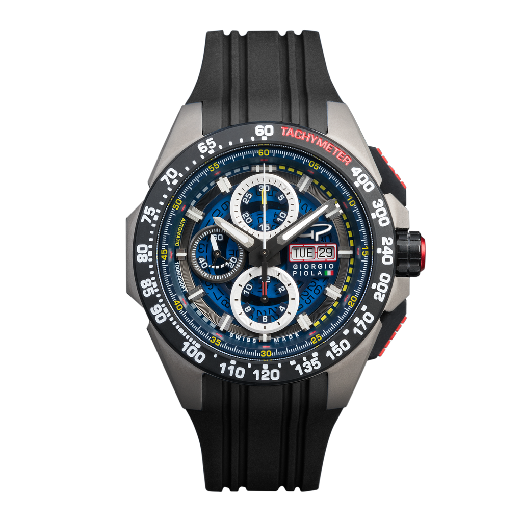 G5 Delta - Black Titanium Chrono Watch