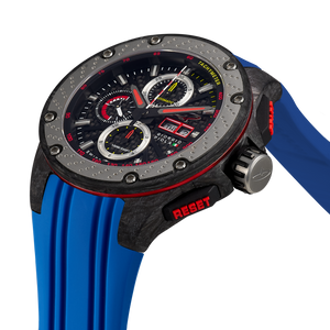 G5 - Black - Blue Titanium Sport Chrono Watch