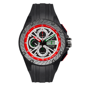 G5 - Green - Black Titanium Sport Chrono Watch