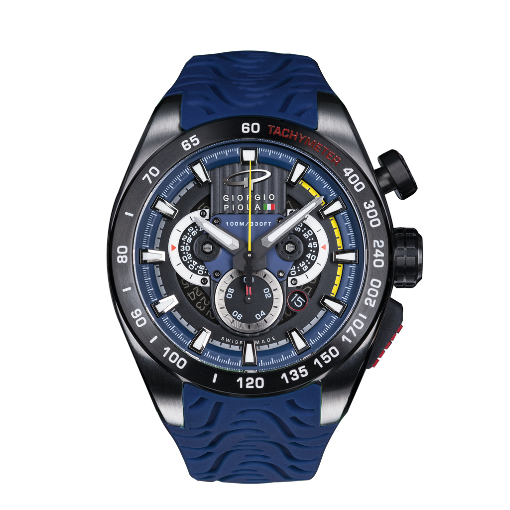SHIFT - Blue Swiss Sport Chrono Watch