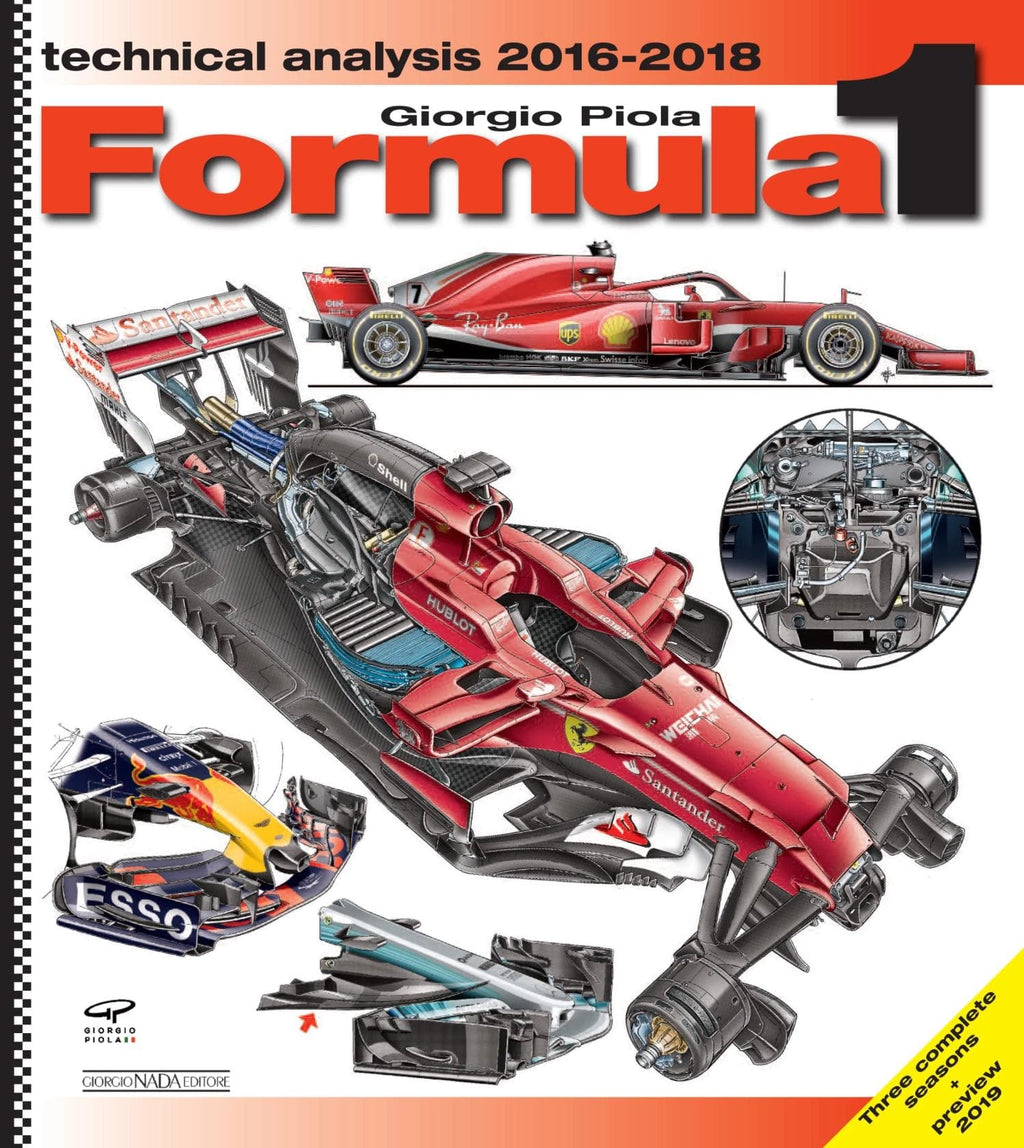 Formula 1 Technical Analysis 2016-2018 with 2019 Preview (Hardbound) English Edition