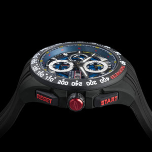 G5 Delta - Black Automatic Titanium Swiss Sport Chrono Watch (Black PVD Coating)