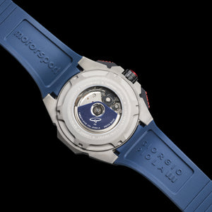 G5 Delta - Blue Automatic Titanium Swiss Sport Chrono Watch