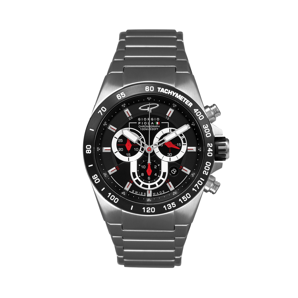 Ignition Swiss Made - Silver-Black Watch