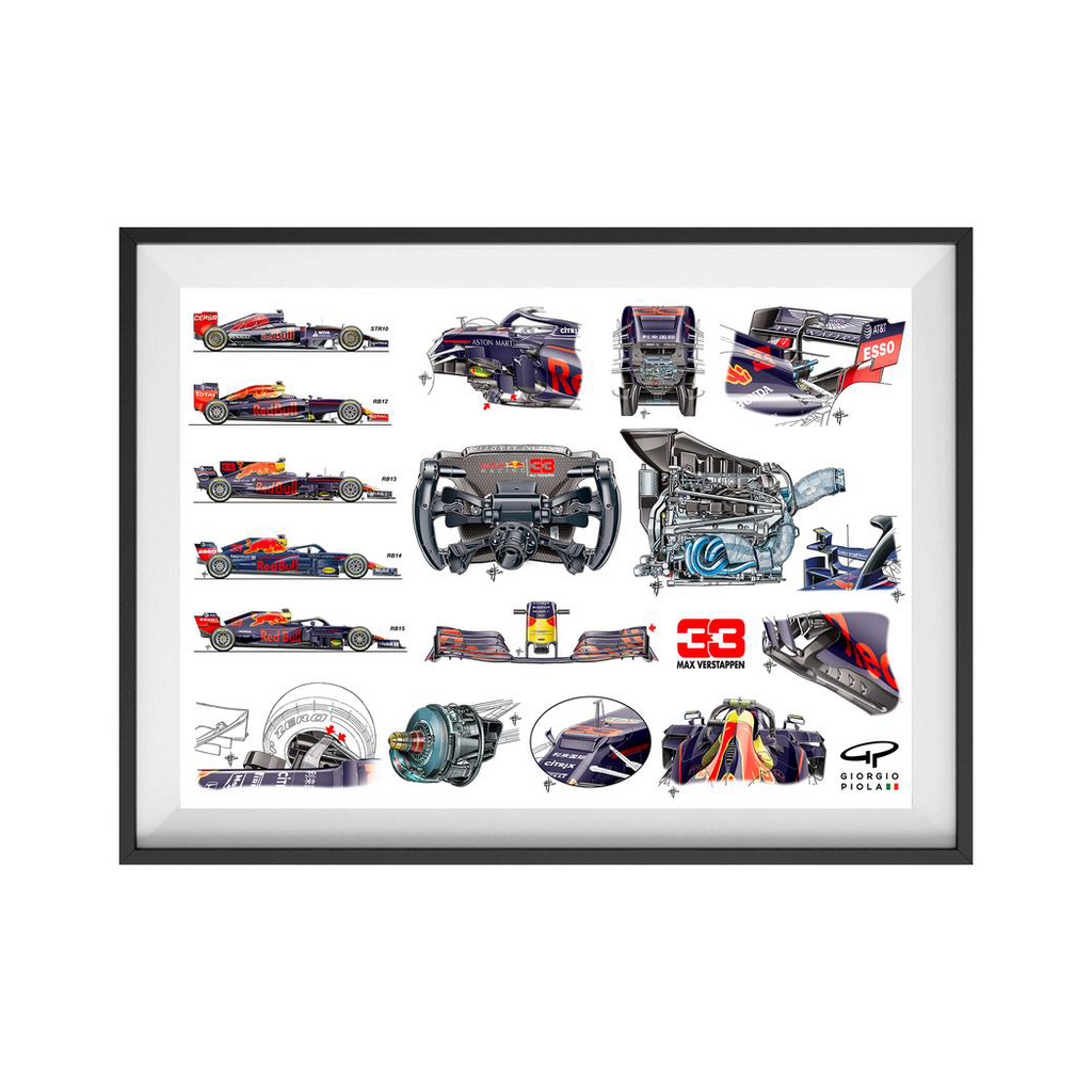 Red Bull RB15 2019 F1 Art Print