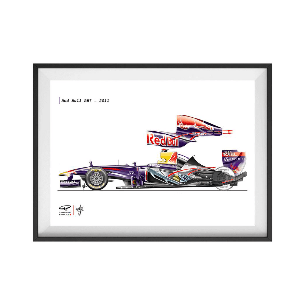 Red Bull RB7 2011 F1 Fine Art Print