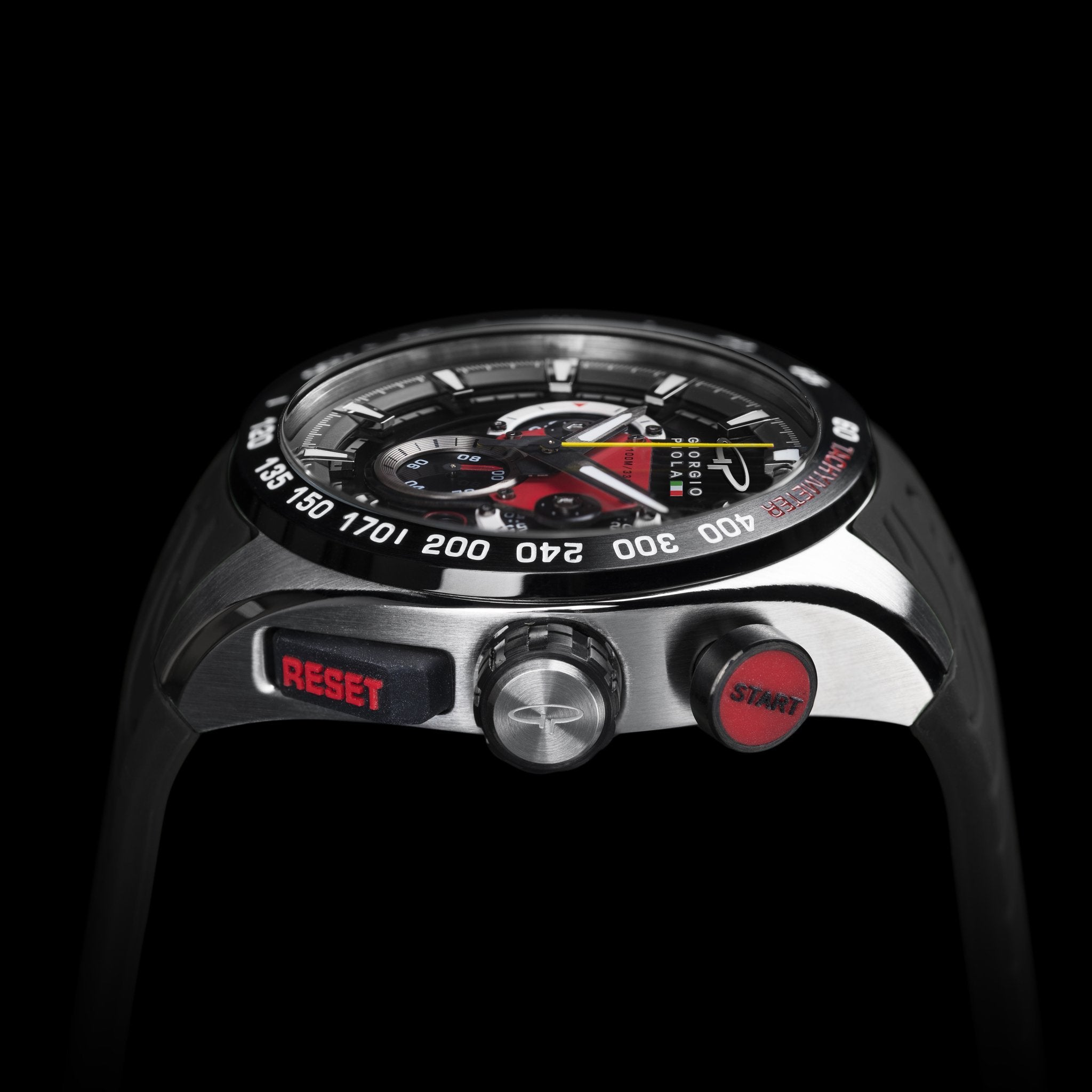 SHIFT - Black Swiss Sport Chrono Watch