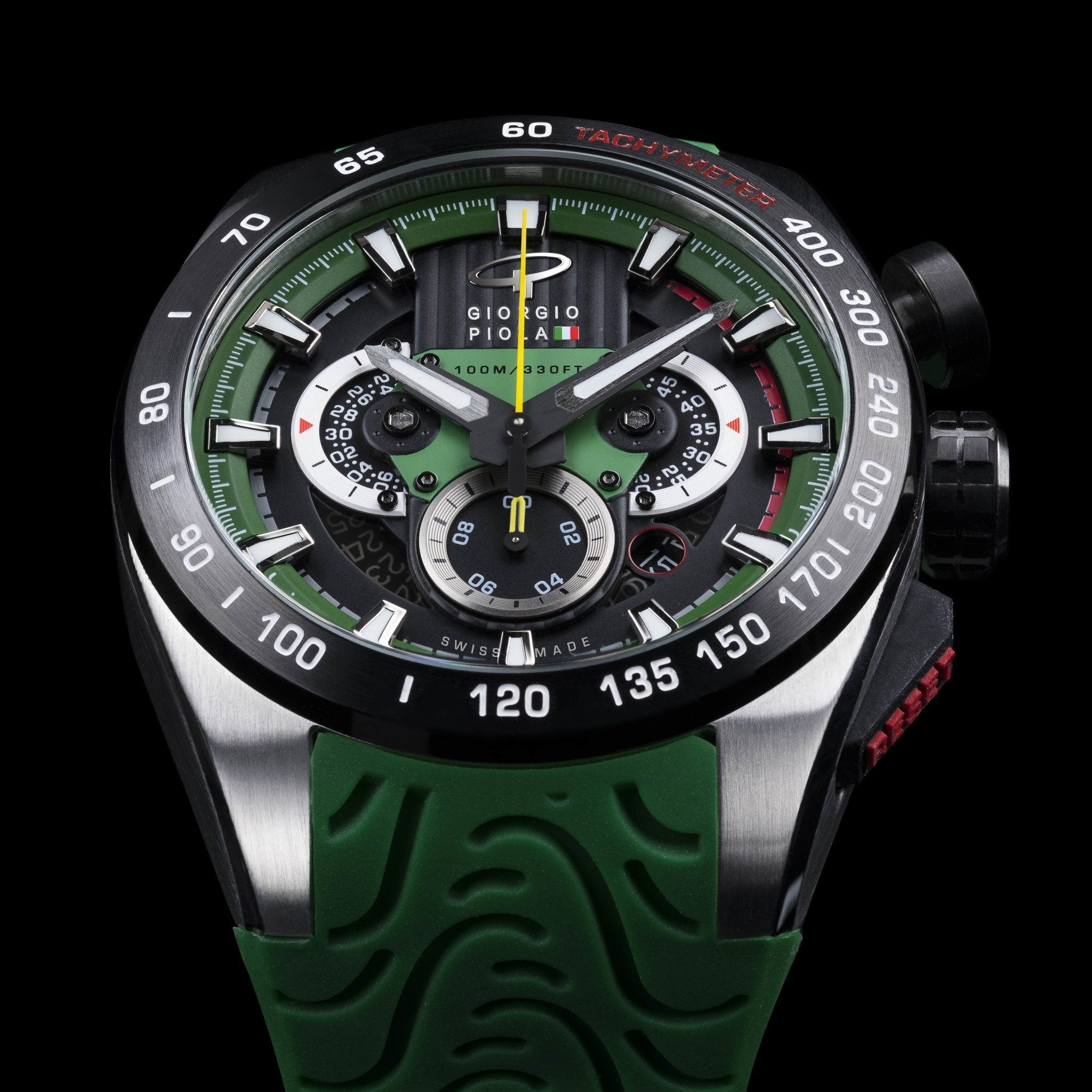 SHIFT - Green Swiss Sport Chrono Watch
