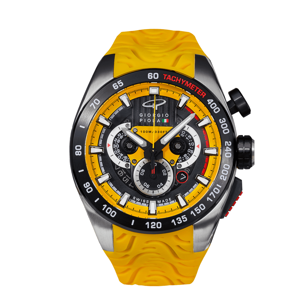 SHIFT - Yellow Swiss Sport Chrono Watch