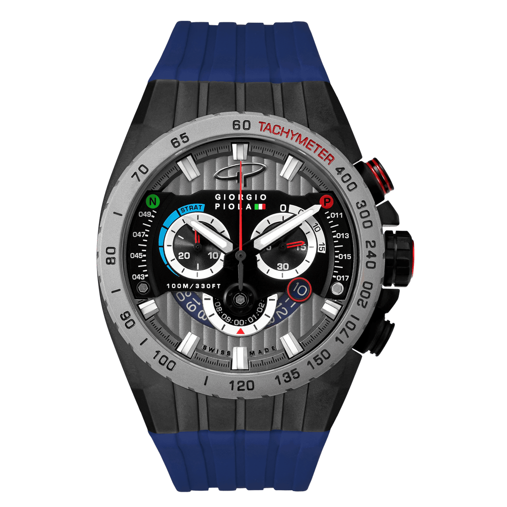 Speedtrap - Blue Swiss Sport Chrono Watch
