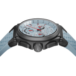 Strat-3 - Blue Titanium Swiss Chrono Ladies Watch 38mm