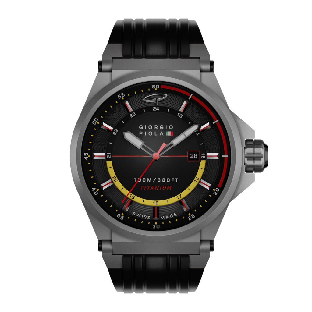 Strat-3 HMS - Black Swiss Titanium Sport Watch