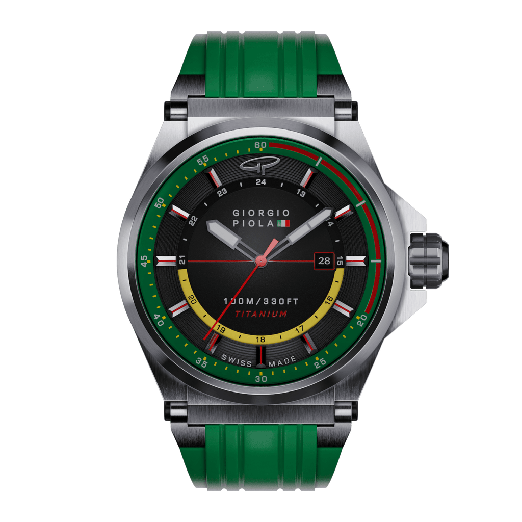 Strat-3 HMS - Green Swiss Titanium Sport Watch