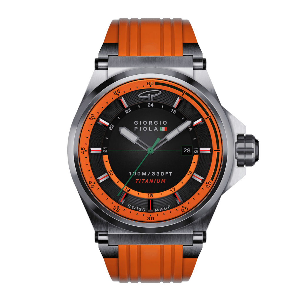 Strat-3 HMS - Orange Swiss Titanium Sport Watch
