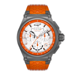 Strat-3 - Orange Titanium Swiss Chrono Ladies Watch 38mm