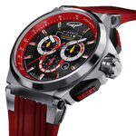 Strat-3 - Red Titanium Swiss Sport Chrono Watch