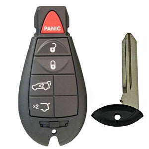 2008-2012 JEEP GRAND CHEROKEE COMMANDER FOBIK KEY 5B