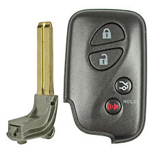 2009-2012 LEXUS ES GS IS LS CT SMART KEY 4B TRUNK (E BOARD) W/ EMERGENCY BLADE