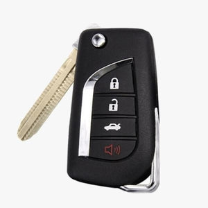 TOYOTA REMOTE FLIP KEY 4B TRUNK (4D67 CHIP)