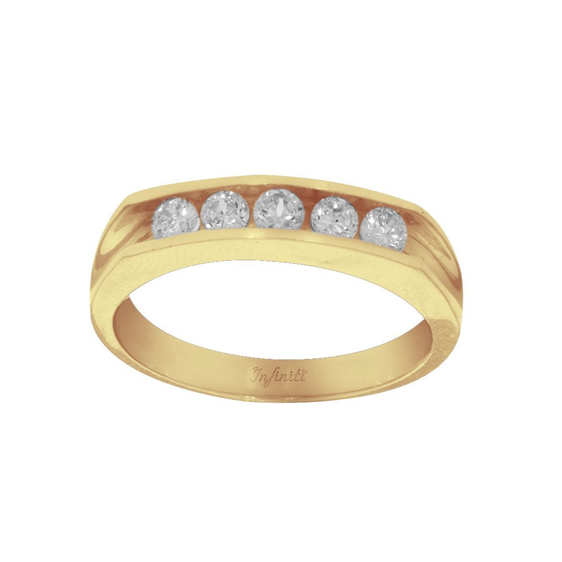 Churumbela Oro 14k, con Zirconias 3 mm
