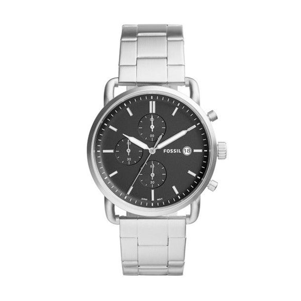 Fossil Men's The Commuter Chuonograph Stainless Steel Watch FS5399 - Infiniti Joyas