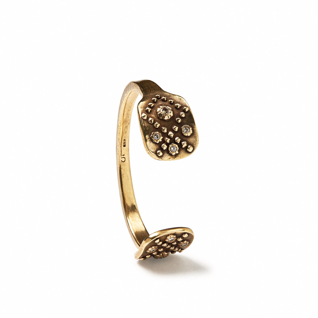 Diamondback Rose Cuff