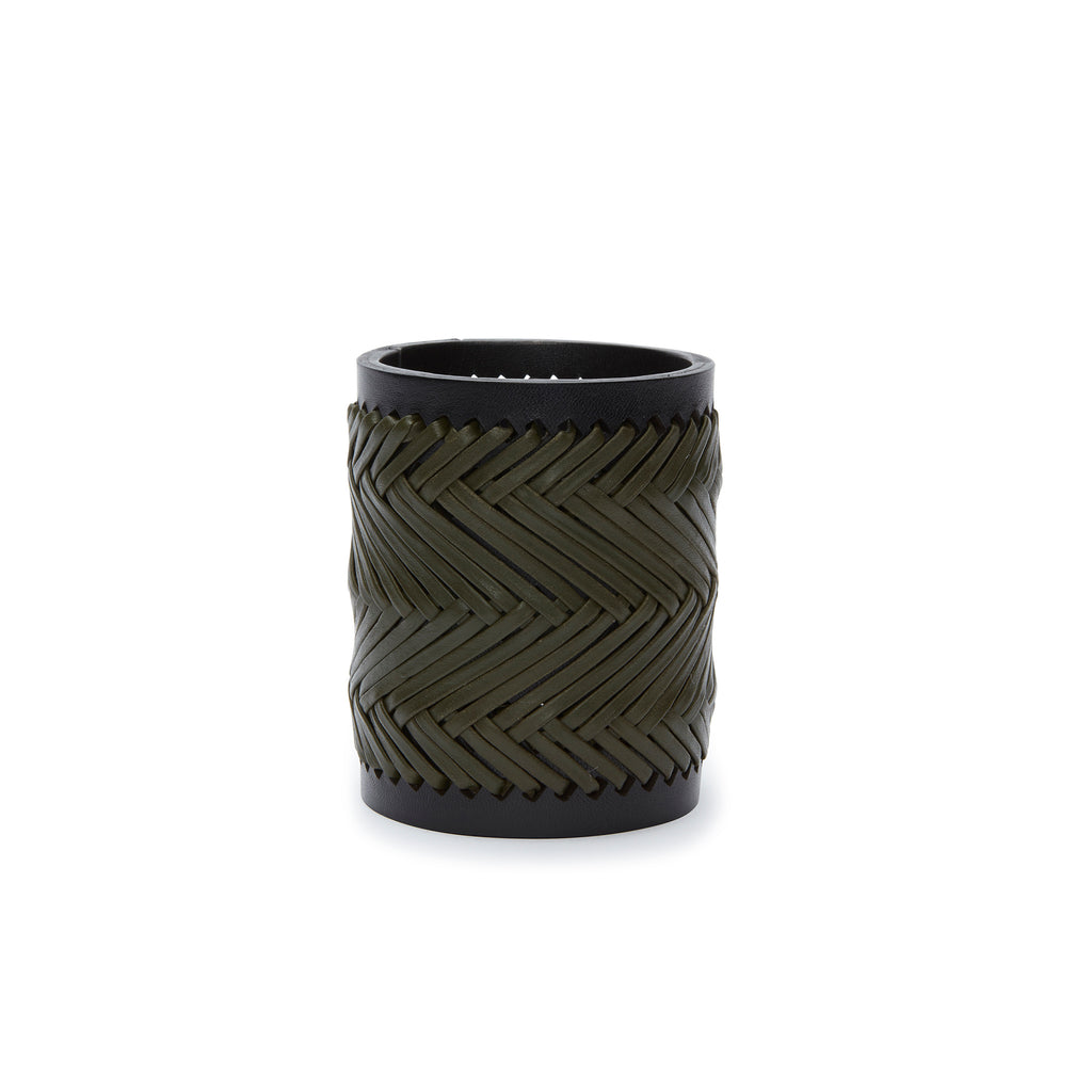 Leather Lashed Beaker