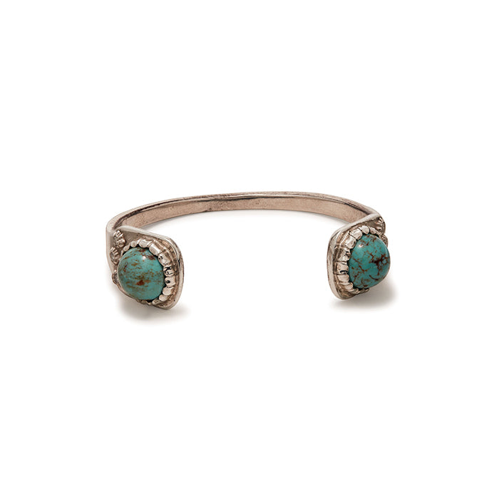 Turquoise Two Cab Cuff