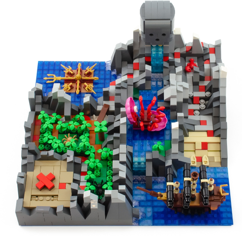 Bricklink 19005 Isle of Peril