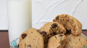 Chocolate Chip Seed Butter Cookies