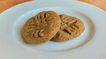 4 Ingredient Pumpkin Spice Seed Butter Cookies