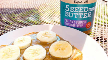 Banana 5 Seed Butter Sandwich