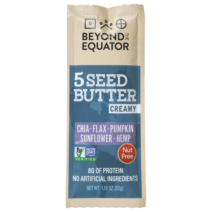 Creamy 5 Seed Butter Packets - Beyond the Equator