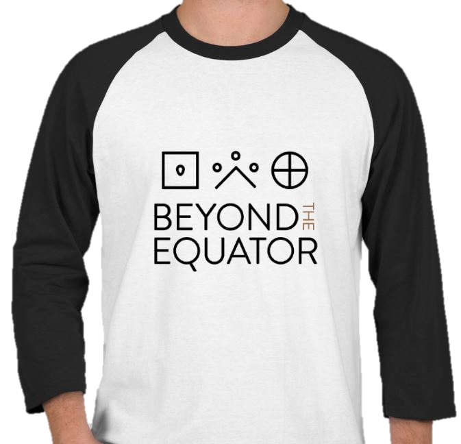 3 Quarter Sleeve T-Shirt - Beyond the Equator