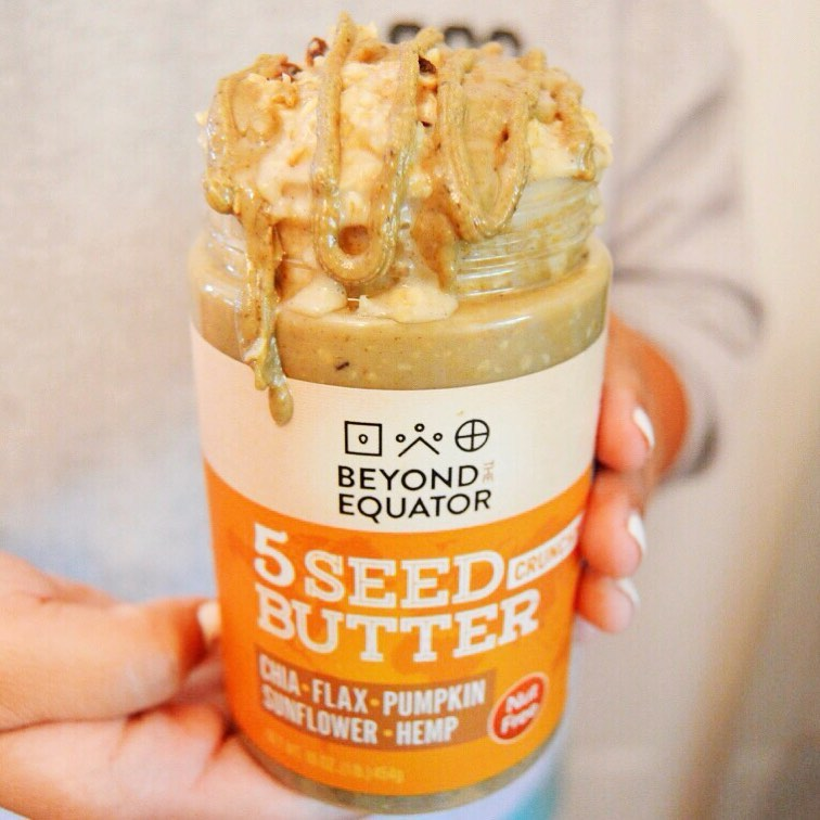 Crunchy 5 Seed Butter - Beyond the Equator