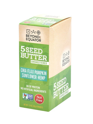 Unsweetened 5 Seed Butter Packets