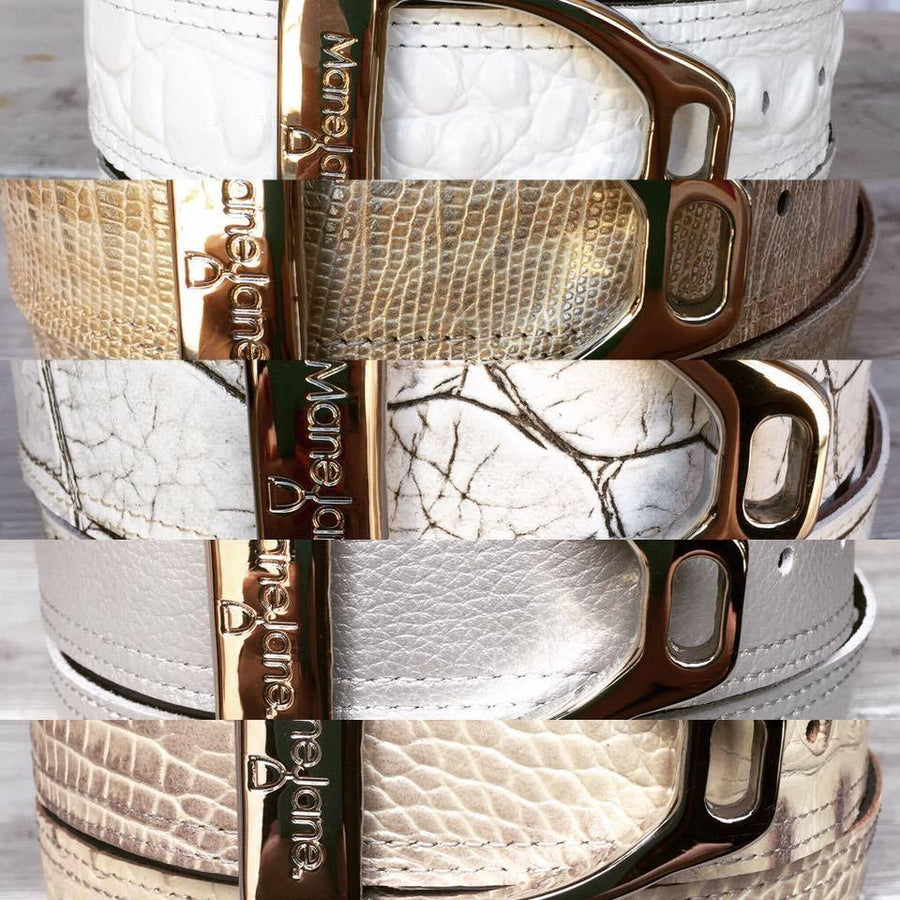 Mane Jane Two in one Reversible belt DESIGN YOUR OWN