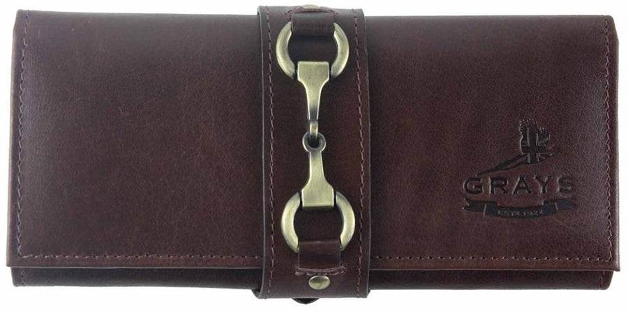 Kate Purse in Brown Fine Leather