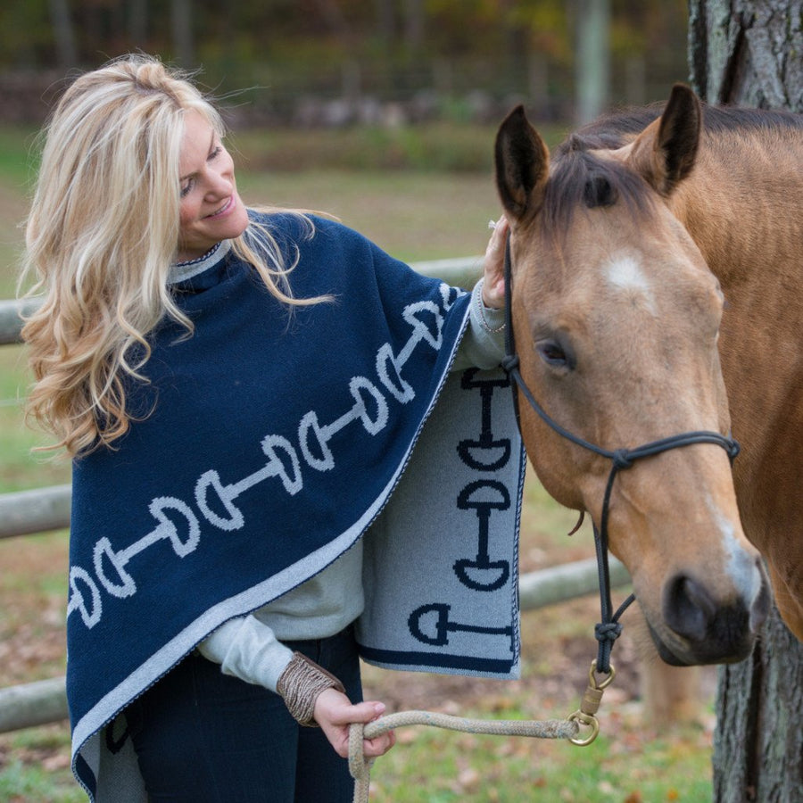 In2green ECO Horse Bit Poncho/Wrap