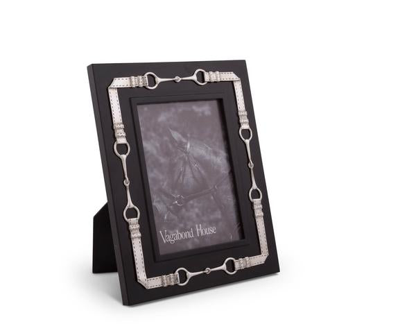 Equestrian Bit Photo Frame Black Edge 5x7