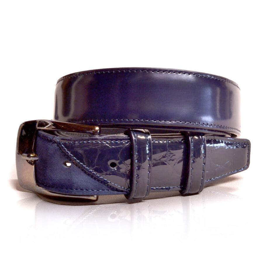 Deniro Belt Lucido Blue