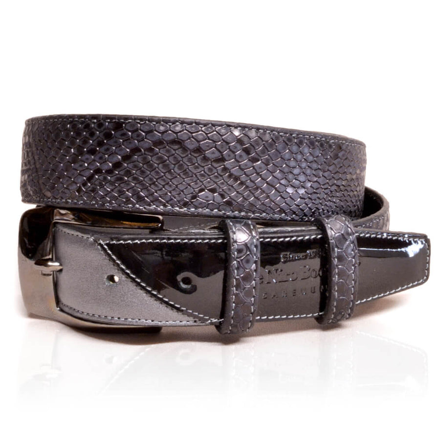 Deniro Belt Regal Black