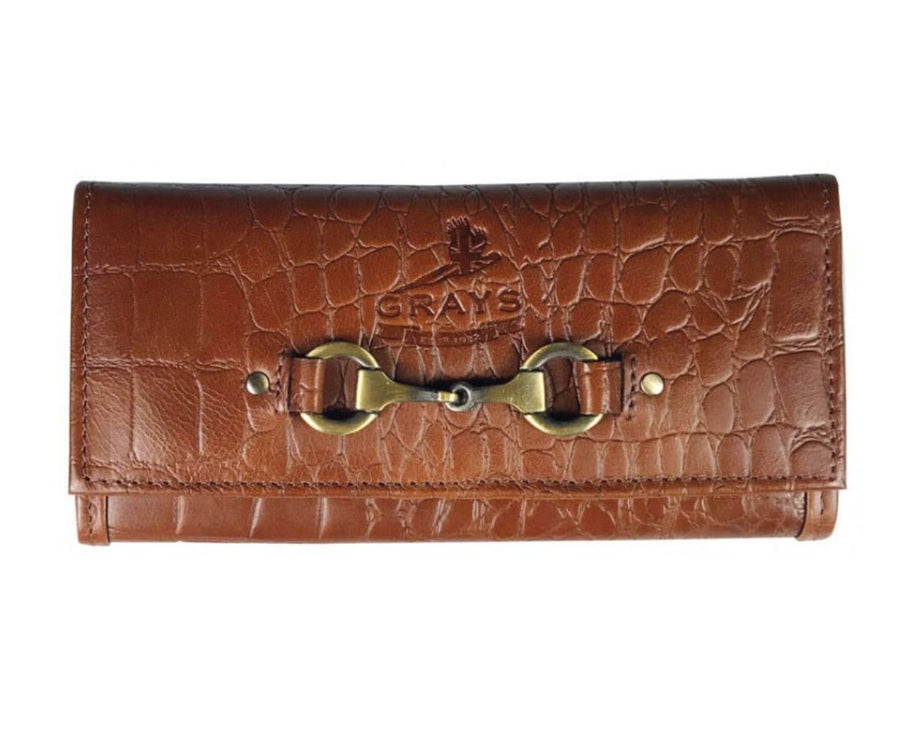 Grays lily Purse in Crocodile