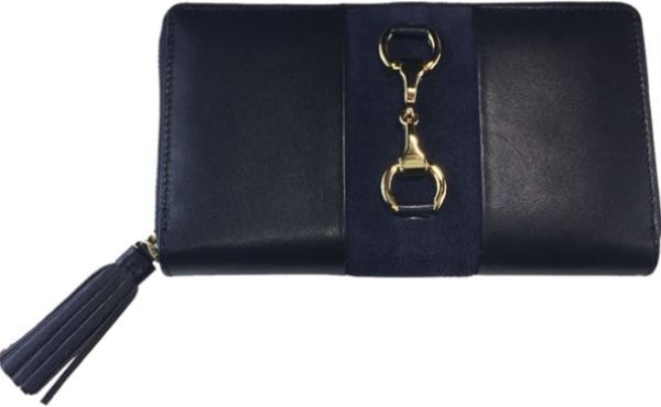 Grays Navy Gold Collection Wallet