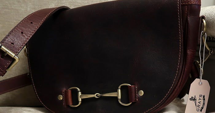 Haston Bag Brown Leather and Suede