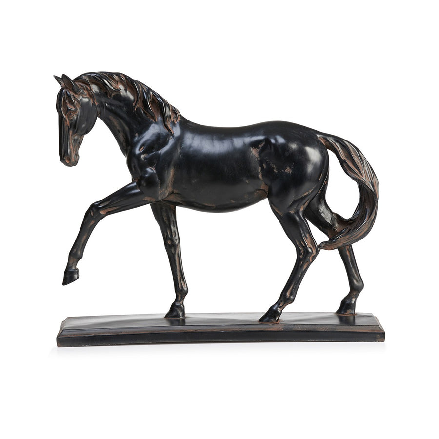 Home Decor Stunning Black Stallion