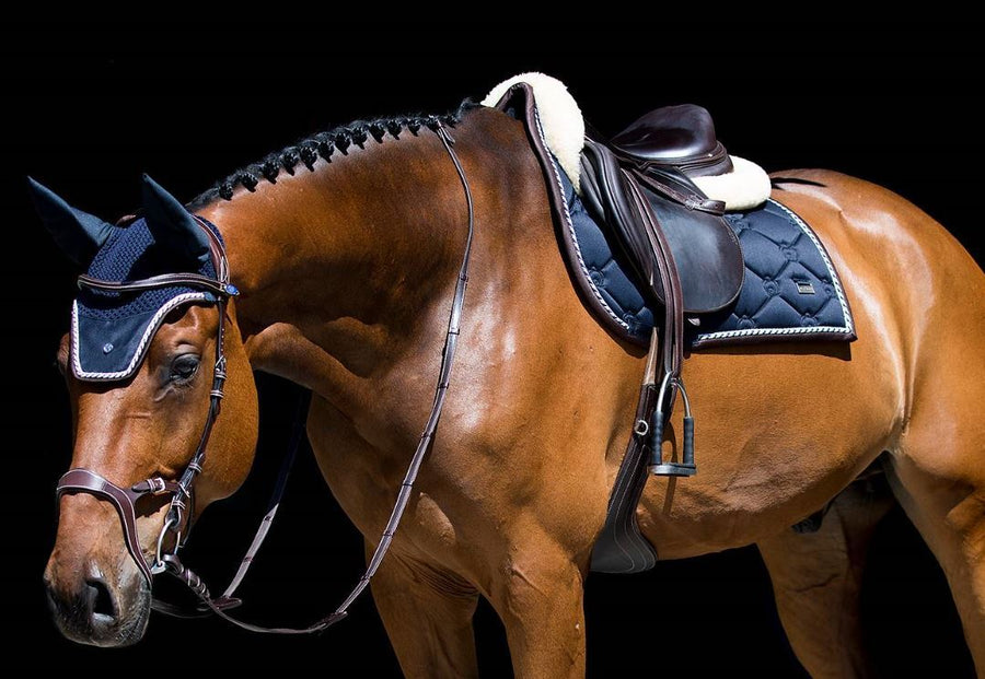 PS of Sweden Deep Sapphire Saddlepad